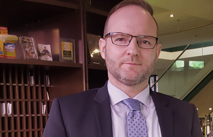 Ulf Mauderer Direktor, Recknitztal-Hotel, Marlow